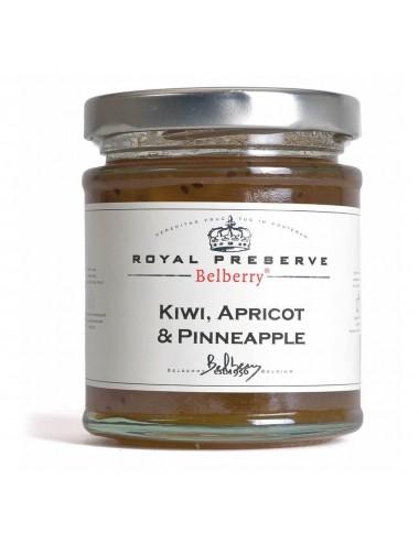 Gem de kiwi, caise si ananas