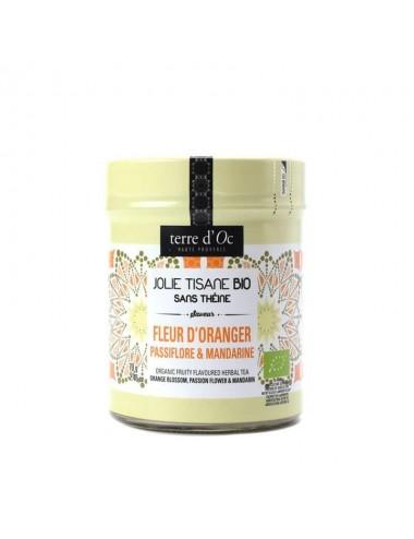 Ceai organic cu floare de...
