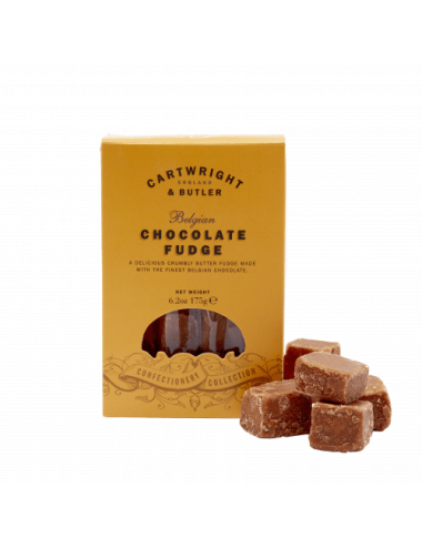 Fudge cu ciocolata belgiana