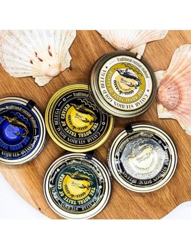 Caviar sturion gold beluga,...